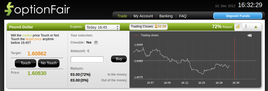 OptionFair Trading Software